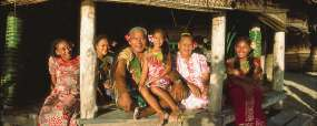 Village Samoa © David Kirkland