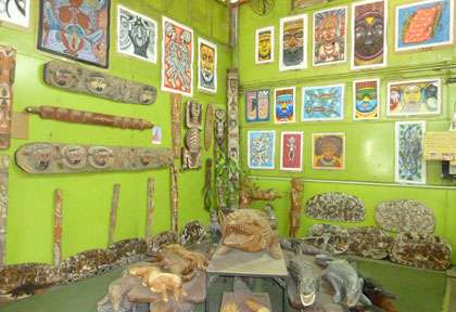 Gallerie à Port Moresby