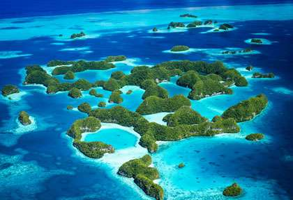 Les Rock Islands de Palau