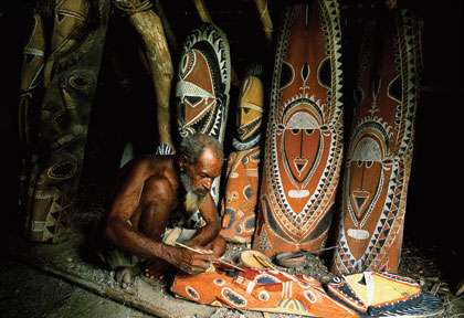 Art Tribal en Papouasie