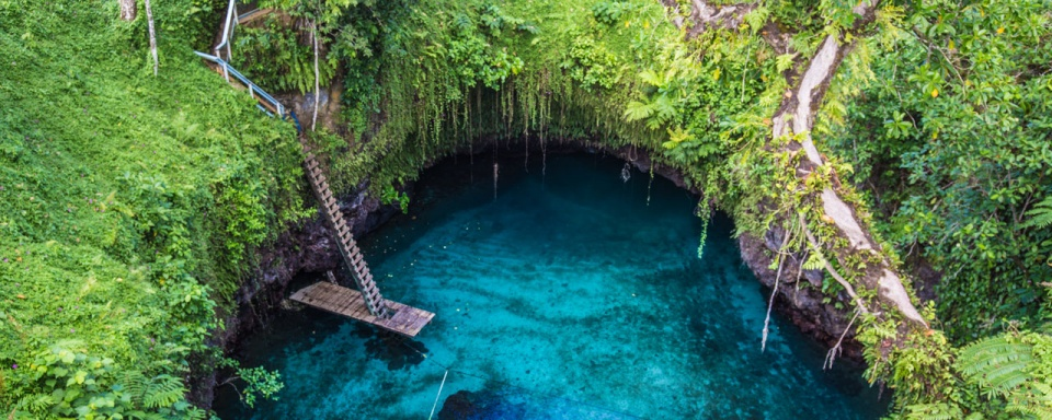 To Sua Ocean Trench © Samoa Tourism